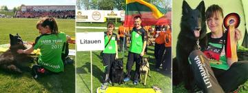 LITHUANIAN AGILITY TEAM SPONSORED BY HUSSE