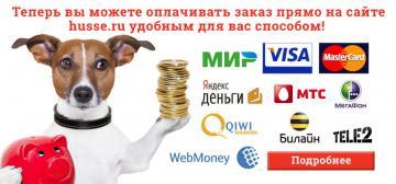 Новые способы оплаты на Husse.ru!