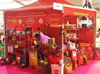HUSSE PARTICIPATED IN 2 FAIRS IN FRANCE
