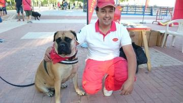 HUSSE TOOK PART IN ADOPTION EVENT IN SPAIN