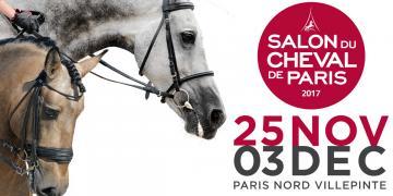 Husse au salon du cheval de Paris