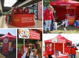 HUSSE TOOK PART IN SEVERAL EVENTS IN POLAND