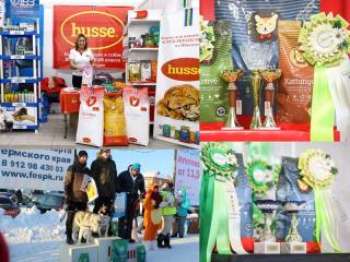 HUSSE ATTENDED SEVERAL SHOWS IN PERM, RUSSIA