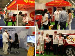 HUSSE WAS PRESENT AT THE INTERNATIONAL FRANCHISE EXPO IN NEW YORK