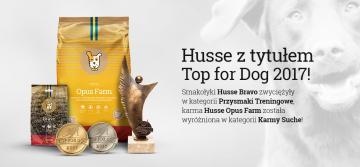 Husse z tytułem Top for Dog 2017!