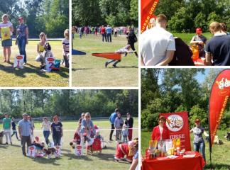 HUSSE TOOK PART IN DOG FESTIVAL IN RUSSIA