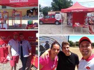 HUSSE WAS PRESENT AT FEW HORSE EVENTS IN SPAIN