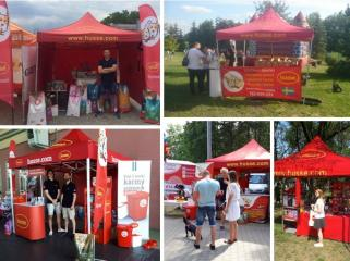 HUSSE TOOK PART IN LOCAL EVENTS IN POLAND