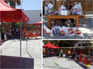 HUSSE ORGANIZED A SOLIDARITY EVENT IN SPAIN