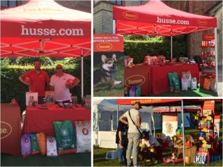 HUSSE WAS PRESENT AT DOG EVENTS IN ITALY