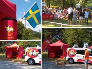 HUSSE PARTICIPATED IN DOG SHOW IN SLOVAKIA