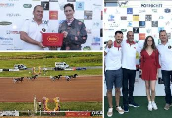 HUSSE SPONSORED HORSE RACE IN FRANCE