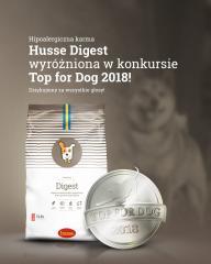 Корм Husse Digest получил медаль!