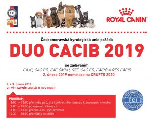 DUO CACIB Brno