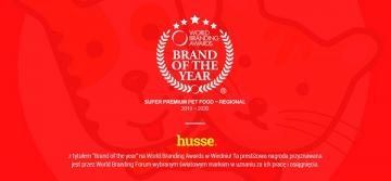 Husse - Brand of the year 2019 - 2020!