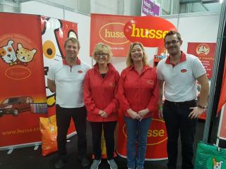 HUSSE WAS PRESENT AT PET EXPO IN IRELAND