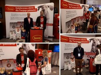 HUSSE TOOK PART IN VETERINARY CONGRESS IN POLAND