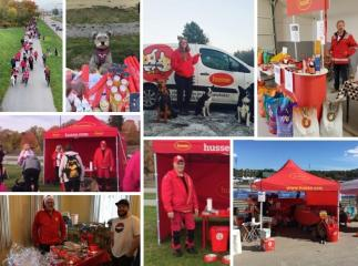 HUSSE PARTICIPATED IN MANY EVENTS ACROSS SWEDEN