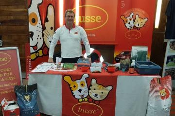 HUSSE ATTENDED DUBLIN CAT FAIR