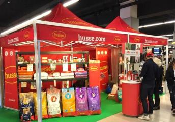 HUSSE TOOK PART IN MANY EVENTS IN FRANCE