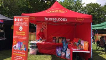 HUSSE WAS PRESENT AT COUPLE OF EVENTS IN UK