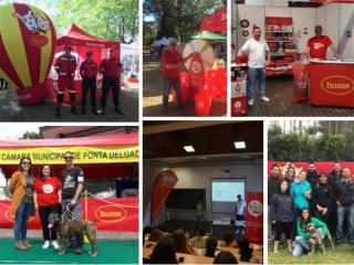 HUSSE TOOK PART IN MANY EVENTS ACROSS PORTUGAL
