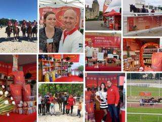 HUSSE WAS PRESENT AT MANY EVENTS IN FRANCE