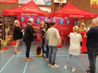 HUSSE TOOK PART IN THE INTERNATIONAL MUNDICAT SHOW IN NETHERLANDS
