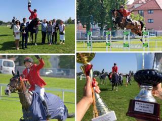URH FROM HUSSE TEAM WON GRAND PRIX AT HORSE SHOW IN CROATIA