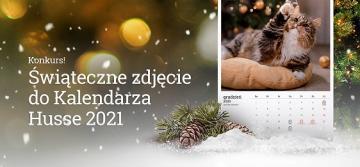 Konkurs! Świąteczne zdjęcie do Kalendarza Husse 2021