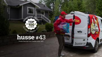 Husse dans le top50 des meilleures franchises mondiales
