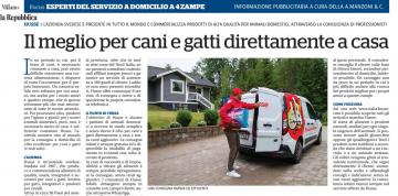 Husse pubblicato su La Repubblica Milano