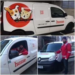 Автомобіль Husse поспішає до ваших домашніх улюбленців!