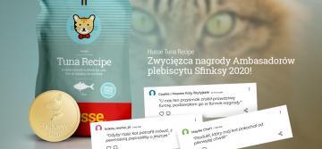 Sfinksy 2020 – Husse Tuna Recipe z nagrodą Ambasadorów