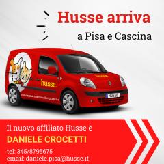 Benvenuto nuovo Affiliato Husse di Pisa