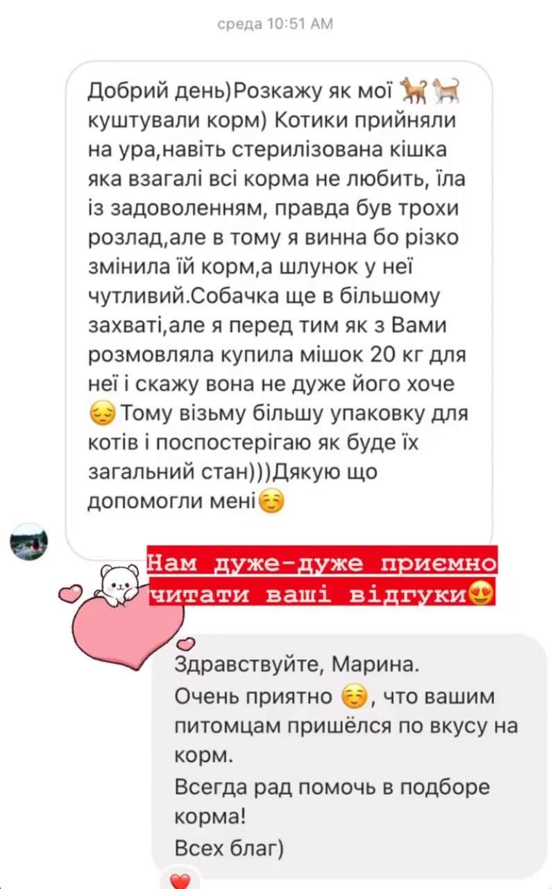Відгук київських тваринок