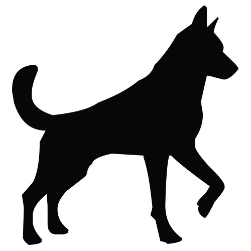 Working Dog Vector
