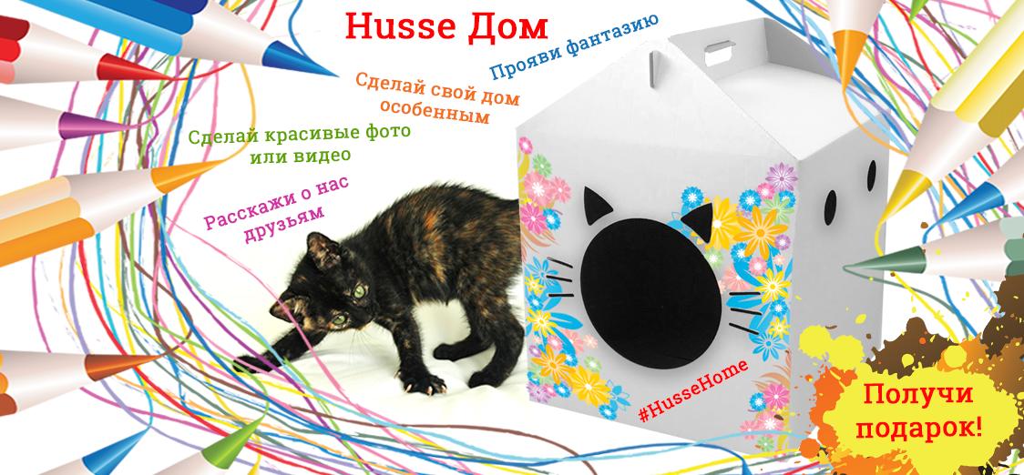 Разрисуй кошкин дом