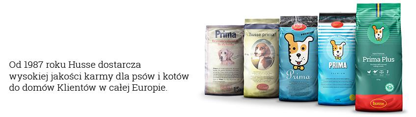 Husse. Szwedzkie karmy dla psów i kotów